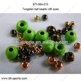 Mosca da alta qualidade que amarra o material terminal - grânulos principais da esfera do tungstênio da ninfa com olhos 08A-015