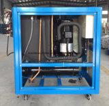 Macchina di raffreddamento del refrigeratore di acqua del tubo industriale raffreddato ad acqua del refrigeratore