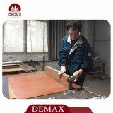 Tecleo auto-adhesivo del suelo del PVC del hogar impermeable
