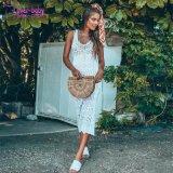Sin Mangas de verano mayorista Shona Crochet vestido largo