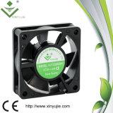 6020 вентилятор с осевой обтекаемостью воздушного охладителя вентилятора 6cm шарового подшипника осевой
