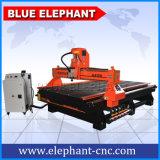 DSP制御木製CNCのルーターの彫版および切断CNCのルーターのが付いている1530木ドアの切断CNCのルーター価格