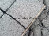 Mattonelle di pavimentazione antiscorrimento del granito chiaro poco costoso di G603 Padang per esterno