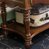 Alta calidad de Muebles de Dormitorio Armario de madera sólida (como808)