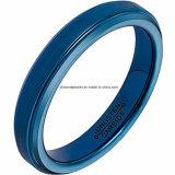 Tungsteno azul Ring&#160 de la joyería de la carrocería de la alta calidad; (TSTBL12)