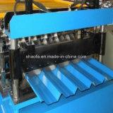 Qualität runzelte Dach-Blatt-Zeile die Wand-Dach-Panel-Rolle, die Maschine bildet