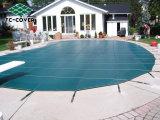de milieuvriendelijke Gemakkelijke Dekking van de Pool van de Installatie, Dekking van het Zwembad van het Netwerk van de Veiligheid van Inground pp van de Grootte van de Douane de Duurzame Super Dichte voor OpenluchtPool en KUUROORD