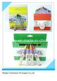 8 creyones de los colores los 0.8cm para los estudiantes y los cabritos