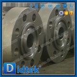 Valvola di ritenuta ad alta pressione dell'oscillazione del disco completamente aperto di Didtek