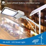 Delight De-Al05 Batterie au lithium intégrée de l'extérieur Rue lumière solaire LED