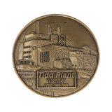 贅沢なデザインあなた自身の美しい記念品の硬貨