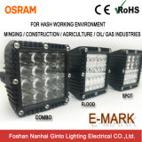 Крайняя долговечность квадратных 7дюйм рабочая лампа для работы в суровых рабочей среды (GT1007Q)