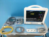 安い価格の携帯用クリニックICUデジタルのMulti-Parameterの忍耐強いモニタ