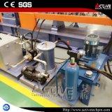 Granulatore di plastica dell'animale domestico gemellare parallelo della vite con la taglierina delle tagliatelle