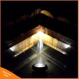 Lampada autoalimentata solare registrabile impermeabile del giardino del LED per illuminazione subacquea del punto dello stagno della piscina
