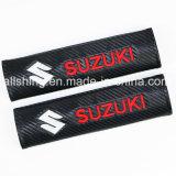 Suzuki-Auto-Firmenzeichen-Sicherheitsgurt-Kohlenstoff deckt Schulter-Auflagen ab