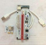 El nuevo USB 3.0 PCI-E expresa el adaptador 008s de la tarjeta de la canalización vertical del suplemento de 1X -16X GPU