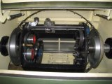 ねじれるFuchuan FC-650cの正常なワイヤー座礁の断面積0.3から4 mm2のBuncher Stranderのリード編み機を束ねる