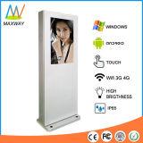 32 Nisse-im Freieninformationen LCD-Anzeigen-Bildschirmanzeige des Zoll-Fußboden-Standplatz-1500 (MW-321OE)