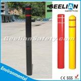 プラスチックボラードは卸し売り価格Anti-Collisionトラフィックの適用範囲が広いDelineatorの警告のポストをカバーする