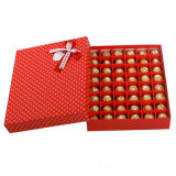 Rectángulo de papel del chocolate de la alta calidad con la bandeja