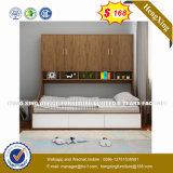 Cama dobrável de montagem de parede sala de estar moderna mobília de quarto em casa (HX-8NR1004)