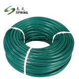 PVC 플라스틱 명확한 철강선 강화된 물 산업 폐기물 호스