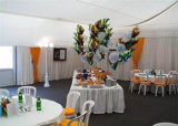 Grosses im Freienhochzeits-Ereignis-Luxuxzelt für 300 im Weiß