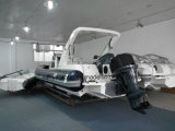 Liya 8.3m PVC/Hypalonの漁船の膨脹可能な肋骨のボート