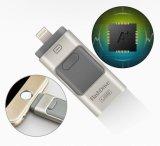 iPhone를 위해 5 5s iPad 펜 드라이브 기억 장치 지팡이 이중 목적 자동차 OTG 마이크로 USB 저속한 Drive4GB 8GB 16GB 32GB 64GB 플러스 6 6s