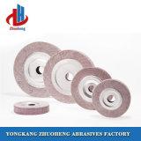 As rodas da aba de montagem tipo de abrasivo para máquinas de lixagem descalcificar (alumina)
