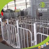Parada individual galvanizada enteramente en baño caliente que es útil a la granja de cerdo moderna