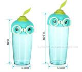 귀여운 만화를 가진 환경 보호 아기 플라스틱 컵