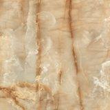 mattonelle Polished piene di superficie lucide lustrate gialle del marmo della porcellana 60X60 per il pavimento