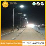 IP65 de alta potencia LED Solar IP66 con la batería y el poste de luz