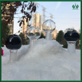 2,4 pulgadas de color negro claro Zob tubería de agua recipiente de vidrio de 14,4 mm 18,8 mm hembra