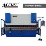 Machine à cintrer de plaque hydraulique de série de WC67Y