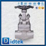 Didtek 벨브 고압 스테인리스 F316 게이트 밸브