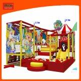 BinnenSpeelplaats van de Apparatuur van het Spel van Themed van het circus de Zachte voor Jonge geitjes