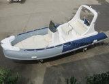 Da fibra de vidro rígida da casca de Liya 20ft venda inflável do bote de salvamento do barco