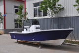 Panga externo 19 do barco de pesca da fibra de vidro de Liya