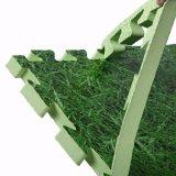 Stuoia della gomma piuma di EVA dell'erba che collega all'ingrosso