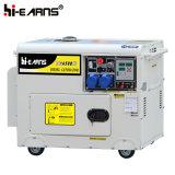 groupe électrogène silencieux du moteur diesel 5kw réglé (DG6500SE)
