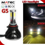 Phare de voiture à LED H7 H11 H16 9005 9006 9007 40W H4 Projecteur à LED 100W
