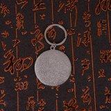 Metallo a resina epossidica Keychain della superficie di effetto di modo