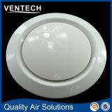 Systèmes CVCA Ventilation Diffuseur d'air ABS Supply Air Disc Valve