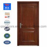 Feu de bois de style européen de l'intérieur porte blanche