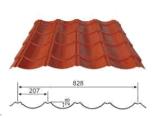 Гальванизированная строительным материалом тонколистовая сталь стены крыши плакирования стального листа