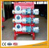 Het Reductiemiddel van het Hijstoestel van de bouw met het Hijstoestel van de Versnellingsbak van de Worm Gjj