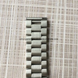 полосы вахты нержавеющей стали 22mm серебряные PVD черные твердые